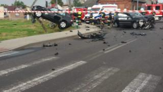 UWAGA! Poważny wypadek w Zasolu. FOTO