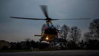 6-latek przetransportowany przez śmigłowiec LPR do szpitala w Katowicach – ZDJĘCIA!