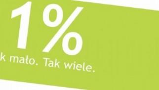 Akcja eFO: 1 procent to podatek dobroczynności