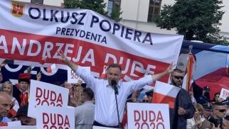 Andrzej Duda wygrał z Rafałem Trzaskowskim w pow. wadowickim