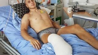 Bartłomiej Bertolin stracił nogę i potrzebuje naszej pomocy