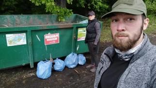 Biegali i zbierali śmieci - FOTO - InfoBrzeszcze.pl