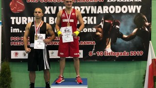BOKS. Wiktor Czopek drugi w prestiżowym turnieju w Knurowie