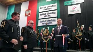 BRZESZCZE. Barbórka z prezydentem i panią wicepremier. W tle niezadowolenie górników i dekarbonizacja