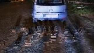 Chełmek. Policjanci zatrzymali złodziei infrastruktury kolejowej