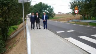 Droga powiatowa w Gminie Osiek już po remoncie