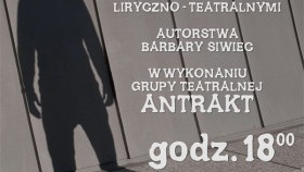 Etiuda Oto Człowiek w wykonaniu grupy teatralnej Antrakt