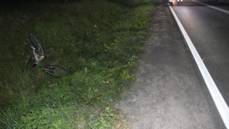 GRABOSZYCE. Młody kierowca osobówki potrącił śmiertelnie rowerzystę