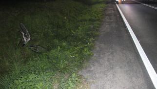GRABOSZYCE. Rowerzysta jechał bez świateł, zginął na miejscu