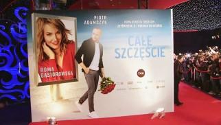 """Gwiazdy na premierze filmu """"Całe szczęście"""" – FILM"""