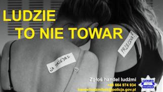 Handel ludźmi – apel policji