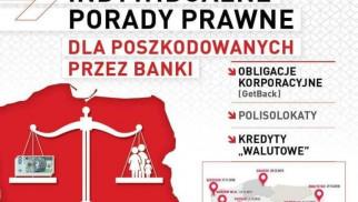 I Bezpłatne Indywidualne Porady Prawne dla poszkodowanych przez banki-KONFERENCJA
