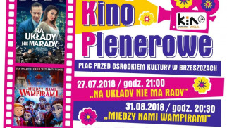 Kino plenerowe przed Ośrodkiem Kultury - InfoBrzeszcze.pl