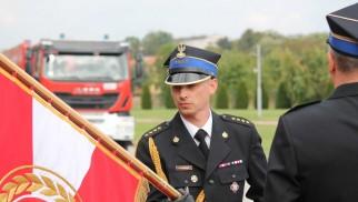 Komendant Powiatowy PSP w Oświęcimiu awansowany na wyższy korpus oficerski