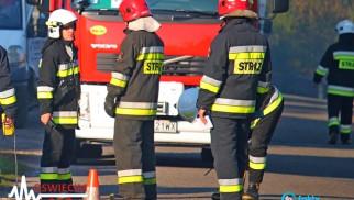 Koparka uszkodziła gazociąg – FOTO