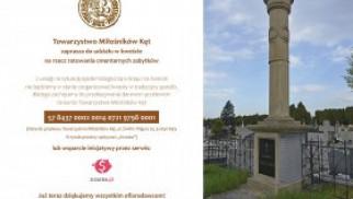 Kwesta cmentarna w Kętach dla ratowania zabytków