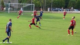 LKS Rajsko wygrał z drużyną z czołówki