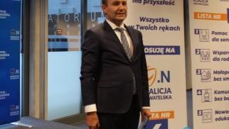 Marek Sowa bohaterem konferencji PiS