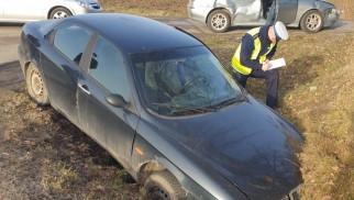 Niebezpieczna kolizja drogowa w Osieku