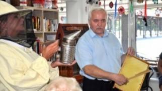 Niecodzienni goście u kęckich seniorów