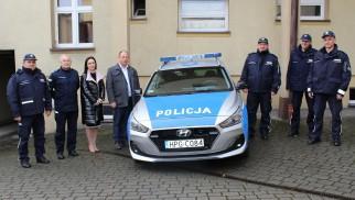 Nowy radiowóz dla Policjantów z Kęt – ZDJĘCIA!