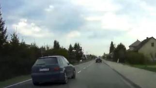 O krok od czołówki na drodze Kęty – Oświęcim – FILM