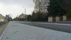 Odbiór chodnika przy ul. Grojeckiej w Zaborzu