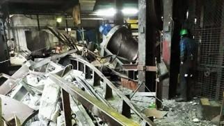 Ogromne zniszczenia po awarii w kopalnianym szybie- 4 górników zostało uwięzionych - InfoBrzeszcze.pl