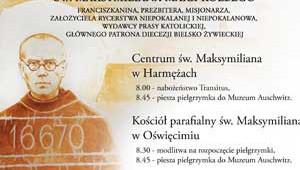 OŚWIĘCIM - HARMĘŻE. Mija 75. rocznica śmierci męczeńskiej św. Maksymiliana