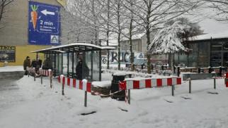 Oświęcim. Ledowe ekrany z informacją pasażerską na początek na czterech przystankach przy ul. Dąbrowskiego
