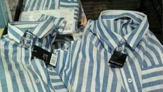 OŚWIĘCIM. Lidl sprzedaje koszule przypominające obozowe pasiaki z Auschwitz