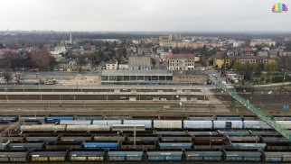OŚWIĘCIM. Nowe zdjęcia z rozbiórki starego dworca PKP