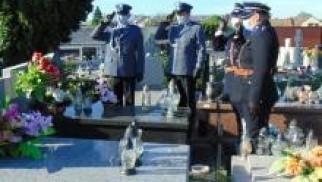Oświęcim. Oddali hołd przedwojennym policjantom oraz bohaterom Powstania Warszawskiego
