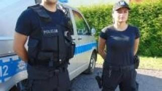 Oświęcim. Policjanci ratowali życie niedoszłego  samobójcy