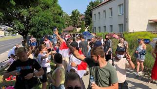 Oświęcim solidarny z Białorusinami