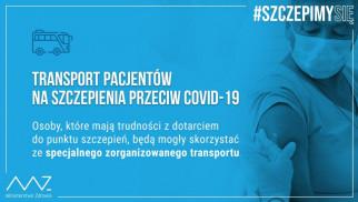 Oświęcim. Transport do punktów szczepień w Oświęcimiu