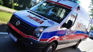 OŚWIĘCIM. Wypadek przy pracy. 26-latek trafił do szpitala