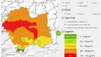 Oświęcim. Zanieczyszczenie pyłem PM10 może przekroczyć poziom alarmowy