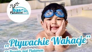 Pływackie Wakacje na Basenie pod Platanem - InfoBrzeszcze.pl