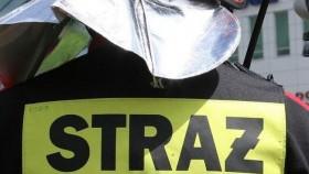 POLANKA WIELKA. Mężczyzna podtruty dymem nie zgodził się na przewiezienie do szpitala