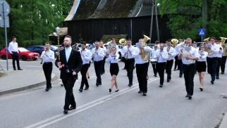 POLANKA WIELKA. Orkiestry dęte i dziecięce zespoły artystyczne coraz liczniej zjeżdżają się do Polanki Wielkiej