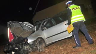 POLANKA WIELKA. Zginął 26-letni mężczyzna. Kierowca volkswagena był pijany.