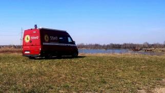 Policja i strażacki dron patrolują stawy w Wilczkowicach - InfoBrzeszcze.pl