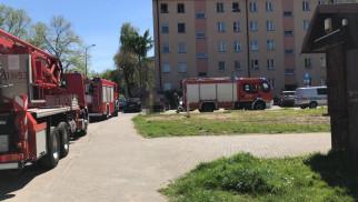 Policjanci zapobiegli pożarowi mieszkania