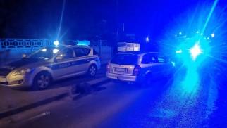 Policyjny pościg za pijanym kierowcą w Brzeszczach – ZDJĘCIA!