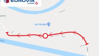 Położą asfalt na modernizowanym odcinku drogi powiatowej w Przeciszowie. Utrudnienia dla kierowców