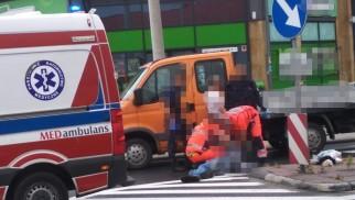 Potrącenie na DK52. Trwa akcja ratownicza – ZDJĘCIA!
