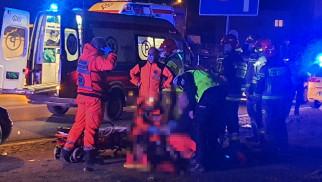 Poważny wypadek w Oświęcimiu. W działaniach biorą udział służby ratunkowe w tym ZRM transportowany przez pomoc drogową – ZDJĘCIA!