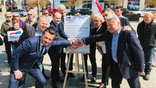 POWIAT. Dorota Niedziela i Marek Sowa liderami KO