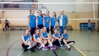 Powiatowe Igrzyska Dzieci w Piłce Siatkowej Dziewcząt